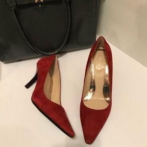 """NWOT Calvin Klein Dolly Suede 3"""" Heels"""